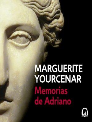 cover image of Memorias de Adriano