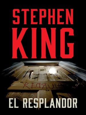 cover image of El resplandor