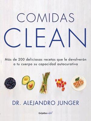 cover image of Comidas Clean (Colección Vital)