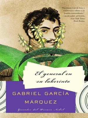 cover image of El general en su liberinto