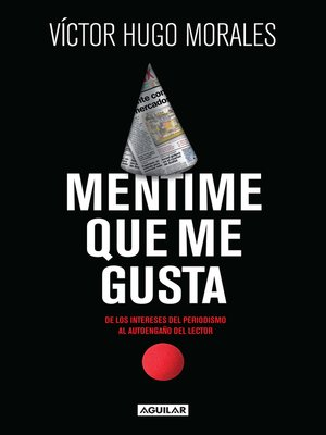 cover image of Mentime que me gusta