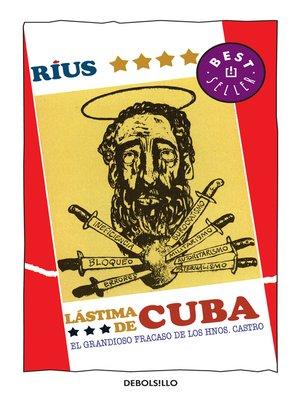 cover image of Lástima de Cuba