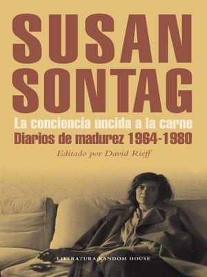 cover image of La conciencia uncida a la carne