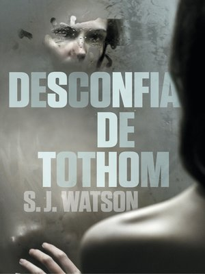 cover image of Desconfia de tothom