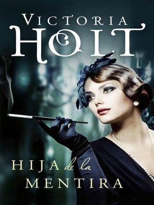cover image of Hija de la mentira
