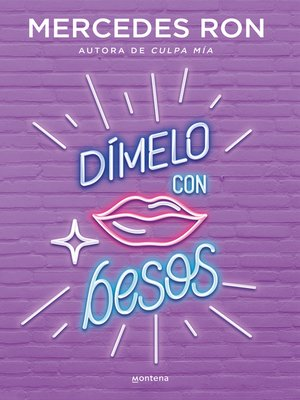 cover image of Dímelo con besos