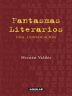 cover image of Fantasmas literarios