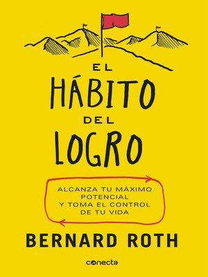 cover image of El hábito del logro