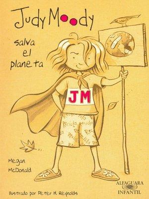 cover image of Judy Moody salva el planeta (Colección Judy Moody 3)