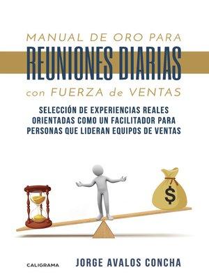 cover image of Manual de oro para reuniones diarias con fuerza de ventas