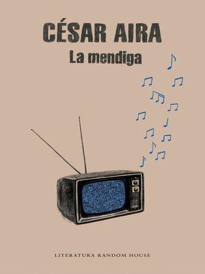 cover image of La mendiga