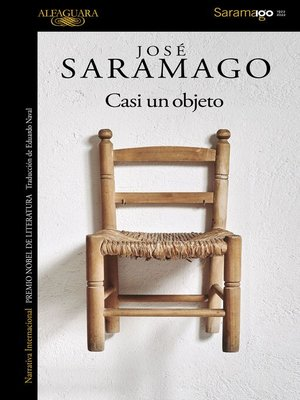 cover image of Casi un objeto