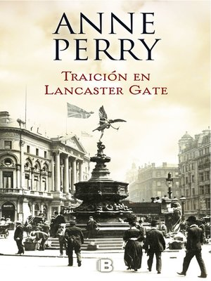 cover image of Traición en Lancaster Gate