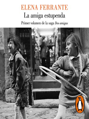 cover image of La amiga estupenda