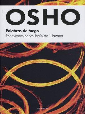 cover image of Palabras de fuego