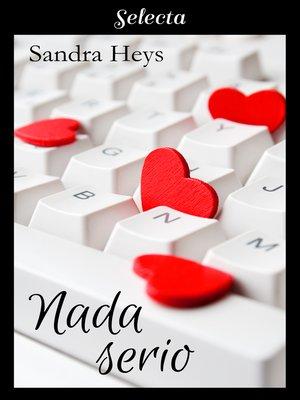 cover image of Nada serio
