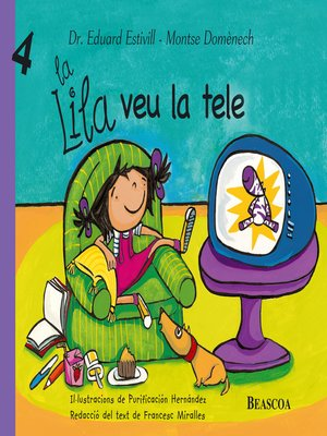 cover image of La Lila veu la tele