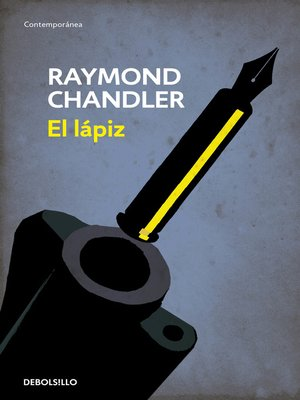 cover image of El lápiz (Flash) (Philip Marlowe 0)