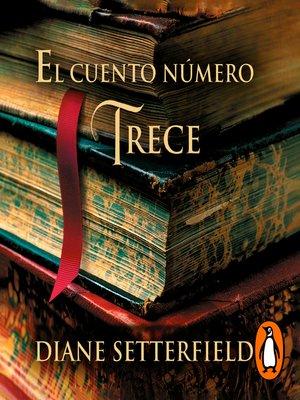 cover image of El cuento número trece