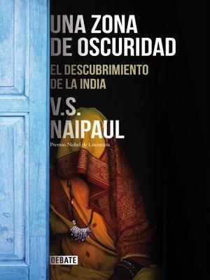 cover image of Una zona de oscuridad