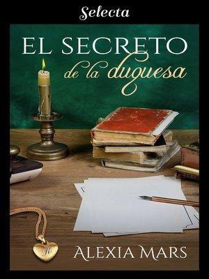 cover image of El secreto de la duquesa
