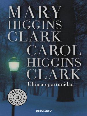 cover image of Última oportunidad