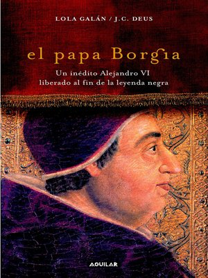 cover image of El papa Borgia