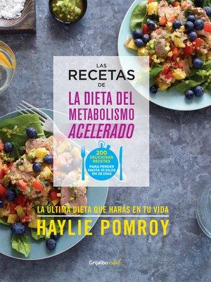 cover image of Las recetas de La dieta del metabolismo acelerado (Colección Vital)