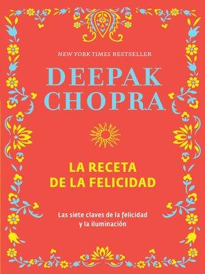 cover image of La receta de la felicidad