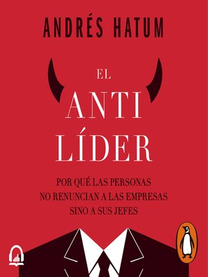 cover image of El antilíder