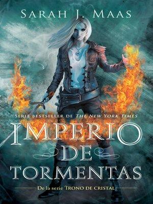 cover image of Imperio de tormentas