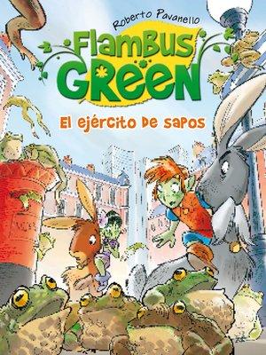 cover image of El ejército de sapos (Flambus Green)