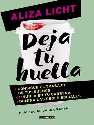 cover image of Deja tu huella