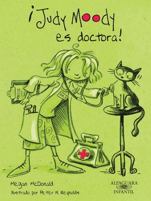 cover image of ¡Judy Moody es doctora! (Colección Judy Moody 5)
