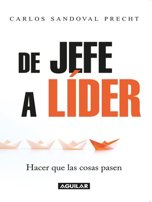 cover image of De Jefe a Líder