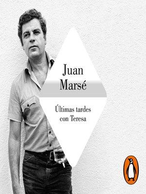 cover image of Últimas tardes con Teresa