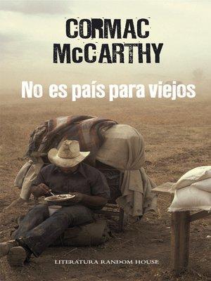 cover image of No es país para viejos