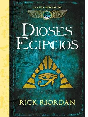 cover image of Dioses egipcios