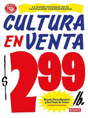 cover image of Cultura en venta