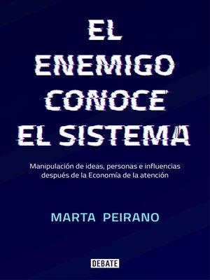 cover image of El enemigo conoce el sistema