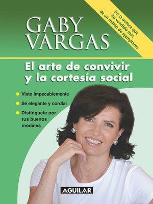cover image of El arte de convivir y la cortesía social