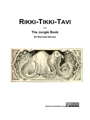 cover image of Rikki Tikki Tavi