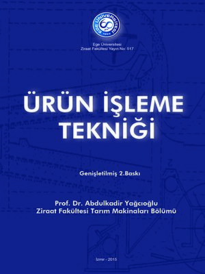 cover image of Ürün İşleme Tekniği
