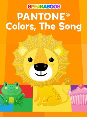 cover image of Pantone Color Song