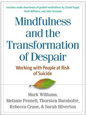 cover image of Mindfulness-Based Cognitive Therapy with People at Risk of Suicide