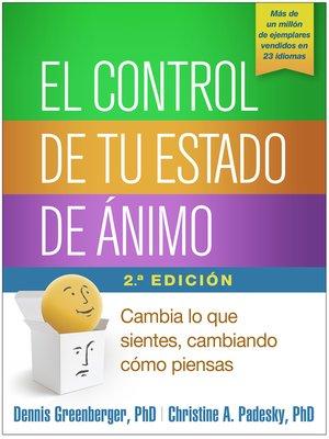cover image of El control de tu estado de ánimo, Segunda edición