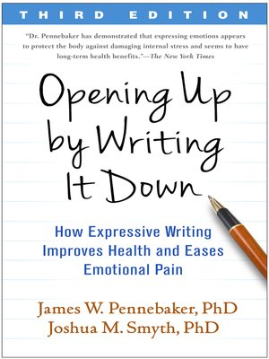 cover image of Opening Up by Writing It Down