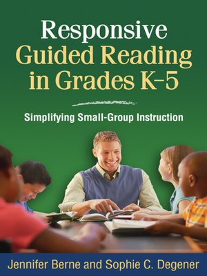 cover image of Responsive Guided Reading in Grades K-5