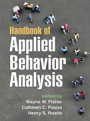 cover image of Handbook of Applied Behavior Analysis