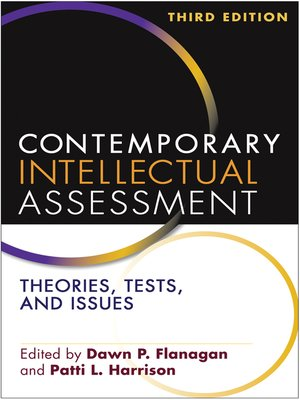 cover image of Contemporary Intellectual Assessment